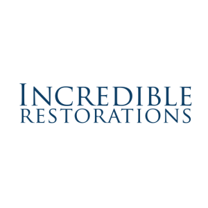 Incredible Restorations Logo White