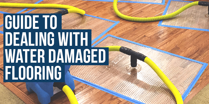 dealing with water Damaged flooring
