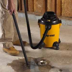 Shop vac water