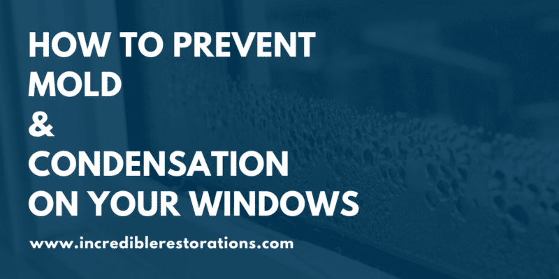 prevent mold and condensation