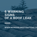 ROOF LEAK WARNING SIGNS