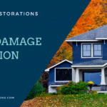 Fall water damage home