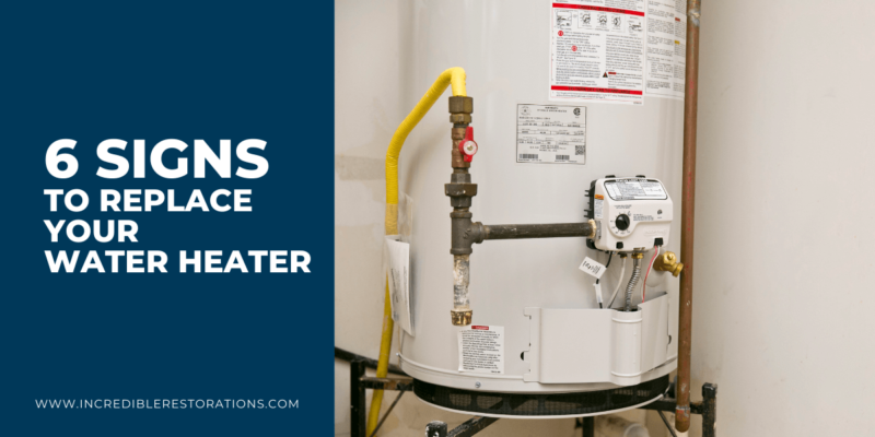 6 signs to change your water heater