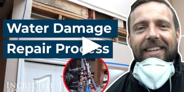 Water Damage Repair Process