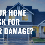Home at risk for water damage